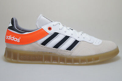 en soldes 97a77 2a893 ADIDAS HANDBALL TOP Blanc/Rouge AQ0905 Baskets Originals Chaussures Homme