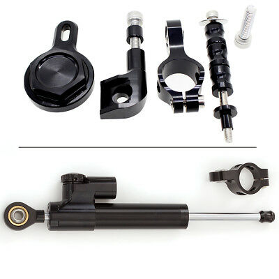 FXCNC Steering Damper Stabilizer Mounting Kit For Yamaha YZF R1 1998 1999-2001