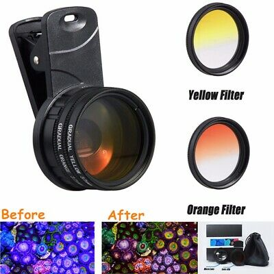 Coral Colour Lens Reef Aquarium Photography Smartphone/Tablet Marine Fish Tank