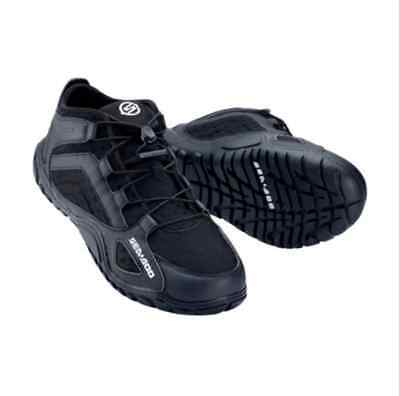 4442282990 Sea-Doo Riding Shoes Black Size 9 444228