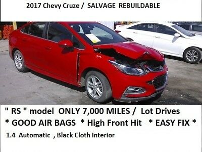 2017 Chevrolet Cruze RS Package