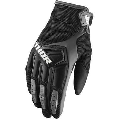 Thor NEW Mx 2018 Spectrum Black Adults Motocross Dirt Bike BMX MTB Gloves