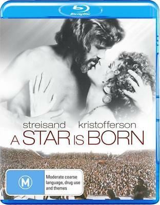 A STAR IS BORN (1976) Region Free [Blu-ray] Barbra Streisand Kris Kristofferson