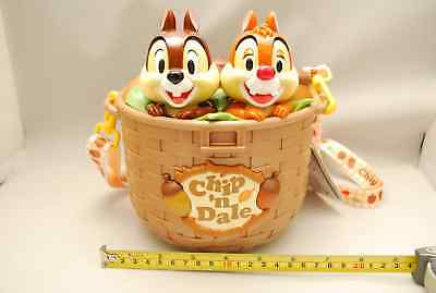 Tokyo Disney Resort Chip and Dale Popcorn Bucket 2018 Container Case Chip & Dale