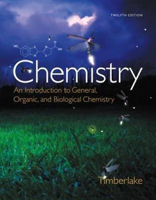 Chemistry: An Introduction to General, Organic, and Biological Chemistry (12th E