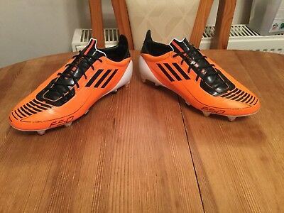 competitive price 1b5b8 0e405 Adidas F50 Adizero Sprint Skin Sg Football Boots Uk 7 Worn In Great  Condition