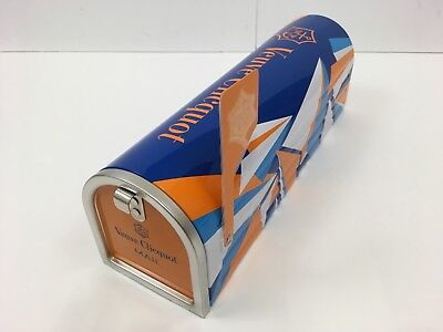 Limited Edition Champagne VEUVE Clicquot Ponsardin US Mailbox Mail Box 2015