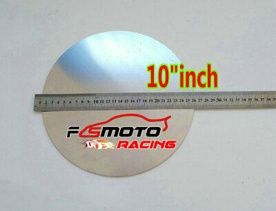 "10"" inch DIA. 255mm Aluminum Disc Circle Blank Plate Flat Sheet Round 2mm Thick"
