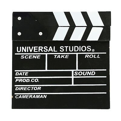 Wooden Clapper Board Director Film Movie Deco Prop Toy Christmas Stocking Filler