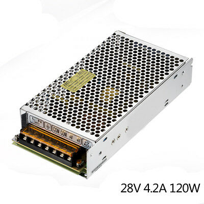 LED Switching Power Supply DC 28V 4.2A 120W LED Lighting Equipment Power Supply