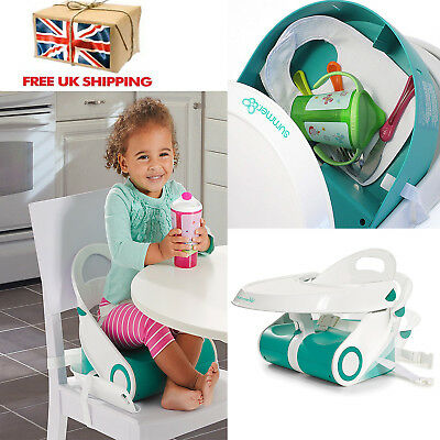 Baby Booster Seat Chair Child Toddler Feeding Dining Home Travel Portable Safety