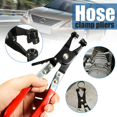 Car Water Pipe Flat Band Hose Clamp Clip Plier Removal Ring Type Automobile Tool