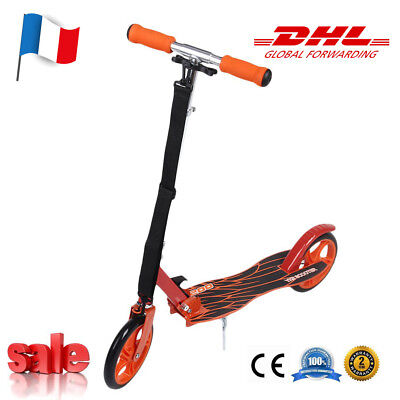 Scooter Roller Pliable Trotinette freestyle Adulte Campus Urbain Stocks Français