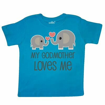 290ed7d6 Inktastic My Godmother Loves Me Toddler T-Shirt Gift From Godchild Childs  New