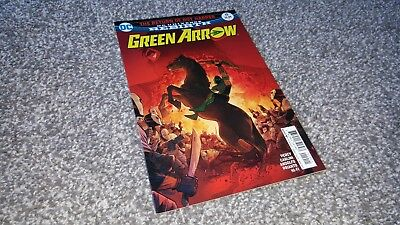 GREEN ARROW #19 Cvr A (2017) DC REBIRTH - RETURN OF ROY HARPER