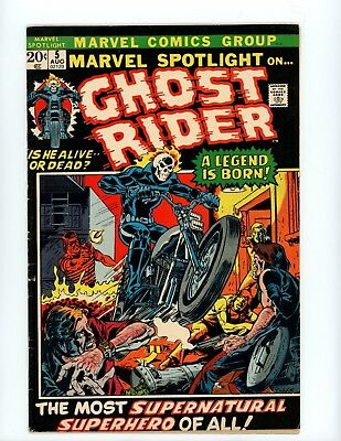 Marvel Spotlight #5 First Ghost Rider!! Nice Quality On This Higher Grade Key!