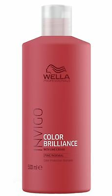 Wella Professionals Invigo Color Brilliance Shampoo fein/normal 500 ml