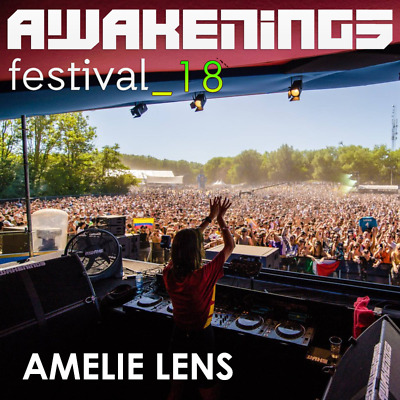 Amelie Lens - Live @ Awakenings Festival 2018 (Amsterdam) 01-07-2018 [AUDIO CD]