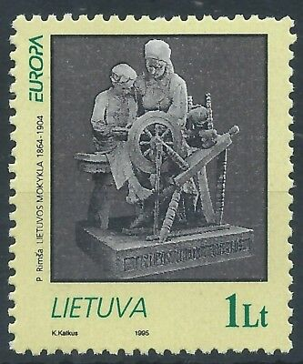 LITHUANIA 1995 SG583  Europa CEPT Peace & Freedom Set mint MNH