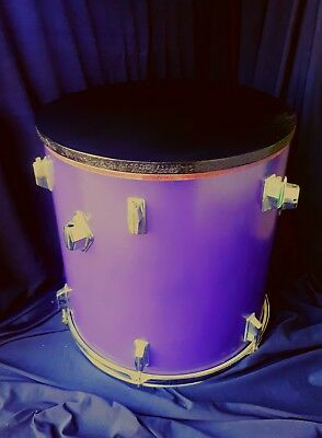 Upcycled Floor Tom Drum Coffee/Side Table *custom colours* with storage inside