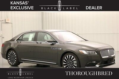 Lincoln Continental BLACK LABEL THOROUGHBRED 3.0 TURBOCHARGED SEDAN MSRP $77570 CONTINENTAL TECHNOLOGY PACKAGE ALCANTARA HEADLINER JET BLACK VENETIAN LEATHER