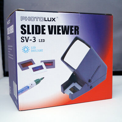 PhotoLux 35mm Mounted Slide viewer SV-3 desktop
