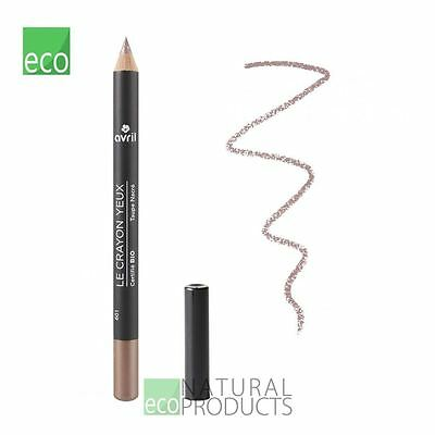 Avril Organic Eye Liner Pencil Mother of Pearl (Taupe Nacre) 1g