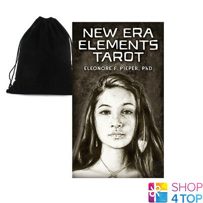 New Era Elements Tarot Cards Deck Fire Water Air Earth Us Games Systems Bag New