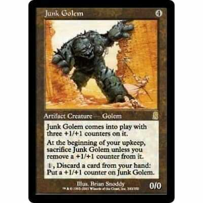 MTG ODYSSEY * Junk Golem (foil) - Condition: Mint / Near Mint