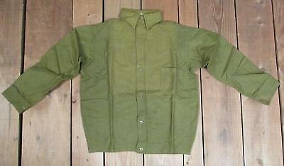 Vintage 1930s Bonnie Boy Green Wool Boys Shirt Antique New Old Stock! Age 12 NOS