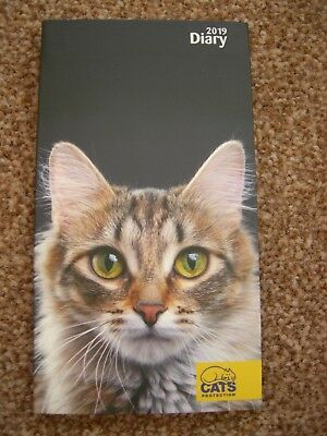 Official Cats Protection 2019 Pocket Diary