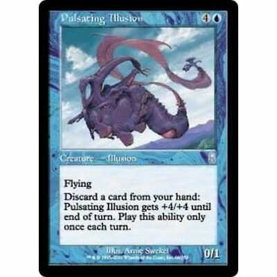MTG ODYSSEY * Pulsating Illusion (foil) - Condition: Mint / Near Mint