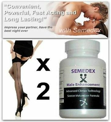 2x Increase Sperm Volume 500% Penis Growth Pills Better Sex Drive Volume Aid