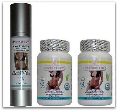 Breast Enlargement Pills + Cream  Actives Success Herbal Up a Cup Augmentation