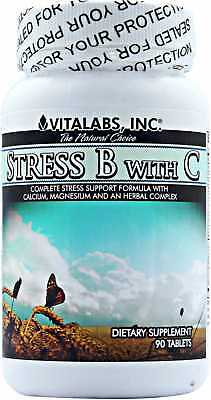 Stress Pills Anxiety Mood Enhancer Tablets AidsTension Fatigue Worry Irritation