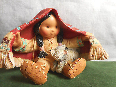Vintage Enesco Friends of the Feather Brothers of the Earth 1994 Karen Hahn