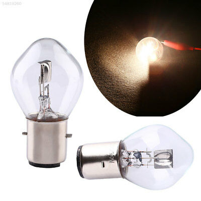 90CF 03CE 12V 35W White 780LM Moped Scooter Motorcycle Head Light Bulb B35 BA20D