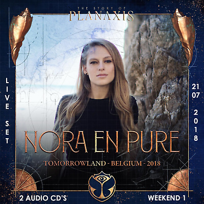 Nora En Pure - Live @ Tomorrowland 2018 (Belgien) – 21-07-2018 – [2 AUDIO CD's]