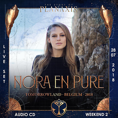 Nora En Pure - Live @ Tomorrowland 2018 (Belgien) – 28-07-2018 – [AUDIO CD]