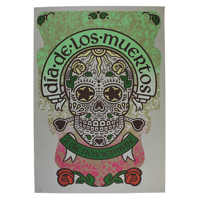 """Dia de los Muertos"" Limited Edition Lithograph Printed by Richard Duardo"