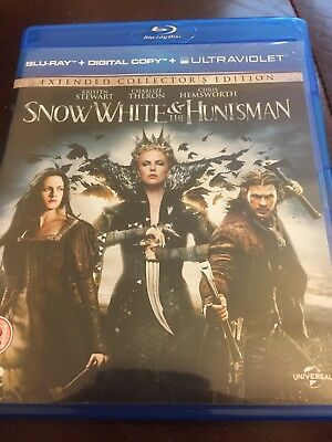 Snow White and the Huntsman Blu Ray (Extended Collectors Edition)