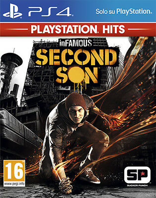 Infamous Second Son PS Playstation Hits PS4 Playstation 4