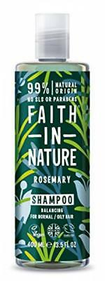 Faith In Nature Rosemary Stimulating Shampoo For Normal To Greasy Hair 400ml