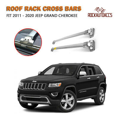 STAINLESS STEEL CHROME CROSS BAR FOR JEEP GRAND CHEVROKEE Roof Racks Crossbar...