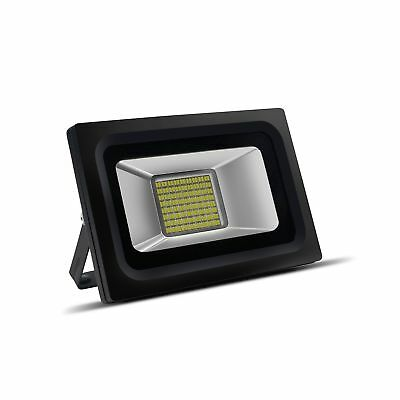 LED Flood Lights, DBF 30W/ 144 LEDs Super Bright Outdoor LED Floodlight Water...