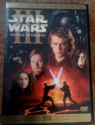 Star Wars Iii,revenge Of The Sith /dvd /digitally Mastered 2-Disc Set,widescreen