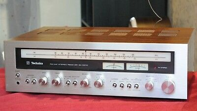 Vintage Technics SA-5370 Stereo Receiver Working Well