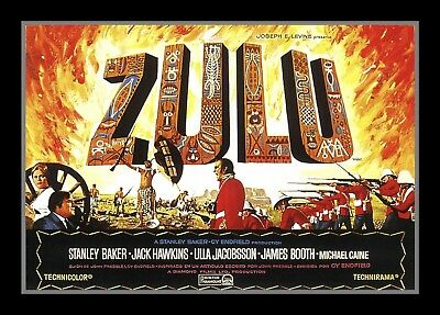 Collectors/Photograph/Print/Photo/Zulu/1960's/Film/Still/Cast/Press/Poster