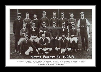 Collectors/Photograph/Print/Nottingham Forest Team Photo/1908/1909