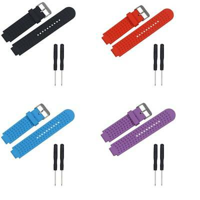 Silicone Sports Watch Strap Replacement Watch Bracelet for Garmin Forerunner 25